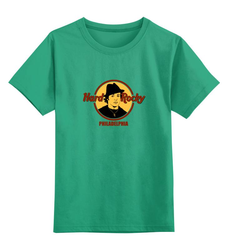 Детская футболка классическая унисекс Printio Hard rocky футболка классическая printio sheena contra hard corps