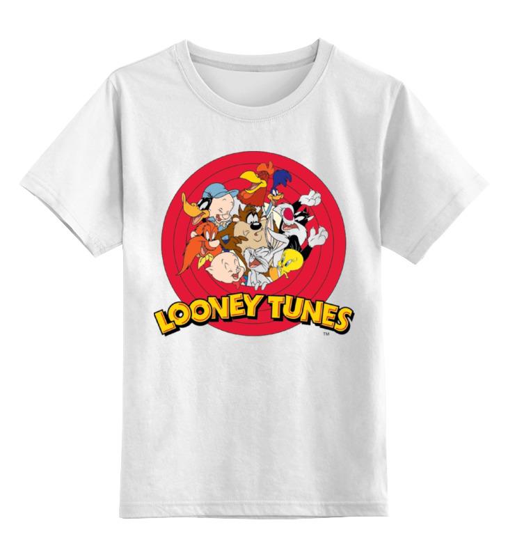 Детская футболка классическая унисекс Printio Looney tunes тапочки looney tunes lt13403