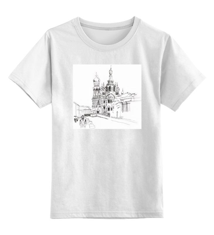 Детская футболка классическая унисекс Printio Спас на крови, спб