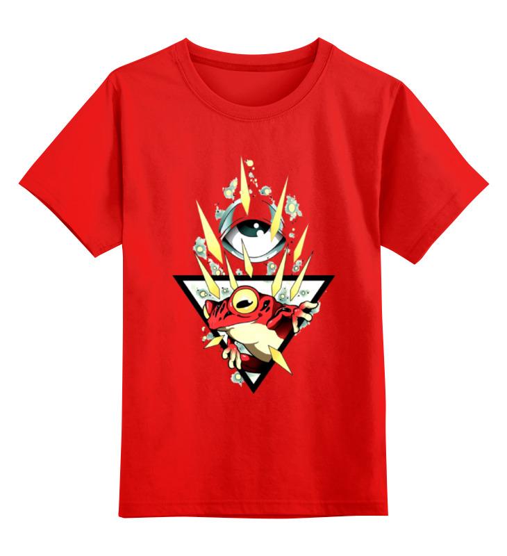 Детская футболка классическая унисекс Printio Абстракция smoby детская горка king size цвет красный