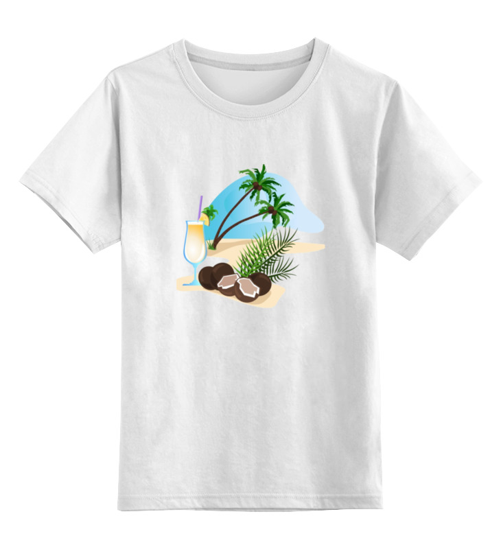 Детская футболка классическая унисекс Printio Лето детская футболка классическая унисекс printio лето