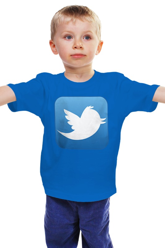 Детская футболка классическая унисекс Printio Twitter детская футболка классическая унисекс printio мачете