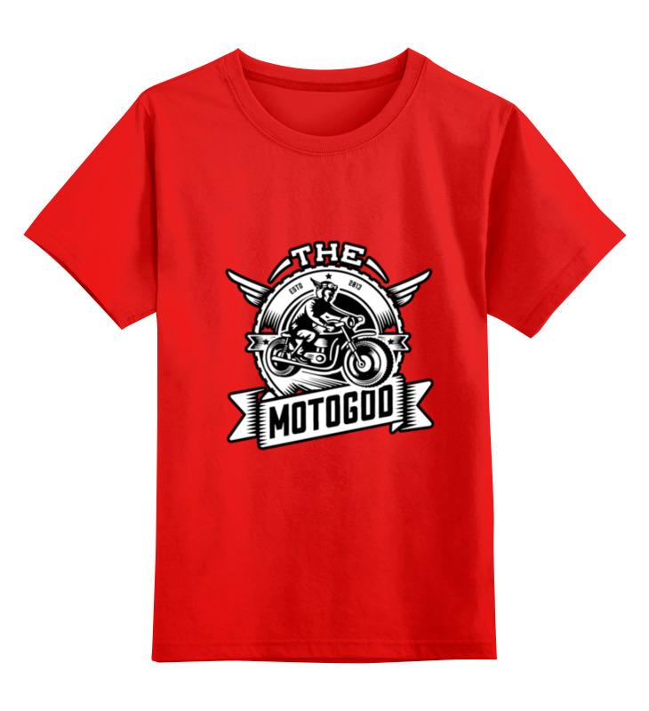 Детская футболка классическая унисекс Printio The motogod детская футболка классическая унисекс printio the cure wish