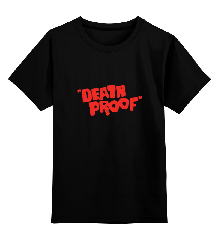 Printio Доказательство смерти детская футболка классическая унисекс printio взрыв звезды смерти
