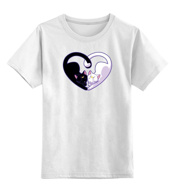 Printio Кошачье сердце детская футболка классическая унисекс printio сердце