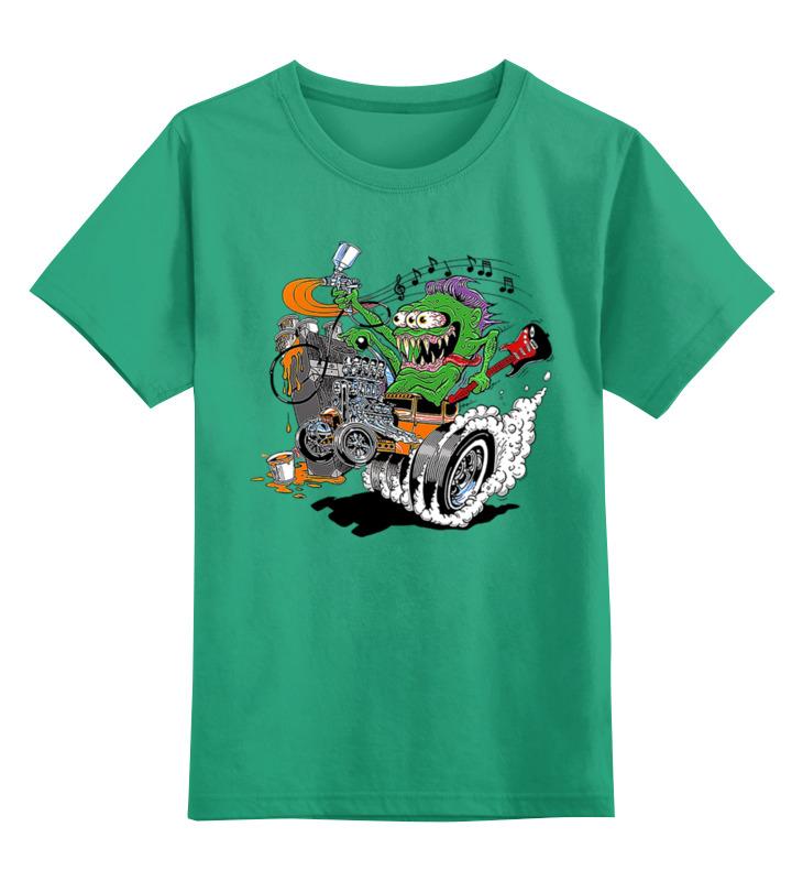 Детская футболка классическая унисекс Printio Зомби с гитарой детская футболка классическая унисекс printio зомби