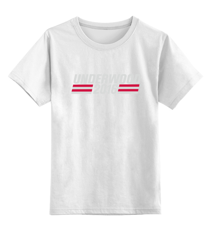 Детская футболка классическая унисекс Printio House of cards футболка для беременных printio house of cards