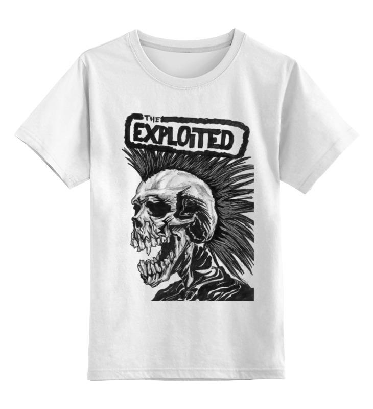 Детская футболка классическая унисекс Printio The exploited the exploited the exploited apocalypse tour 1981 limited edition lp