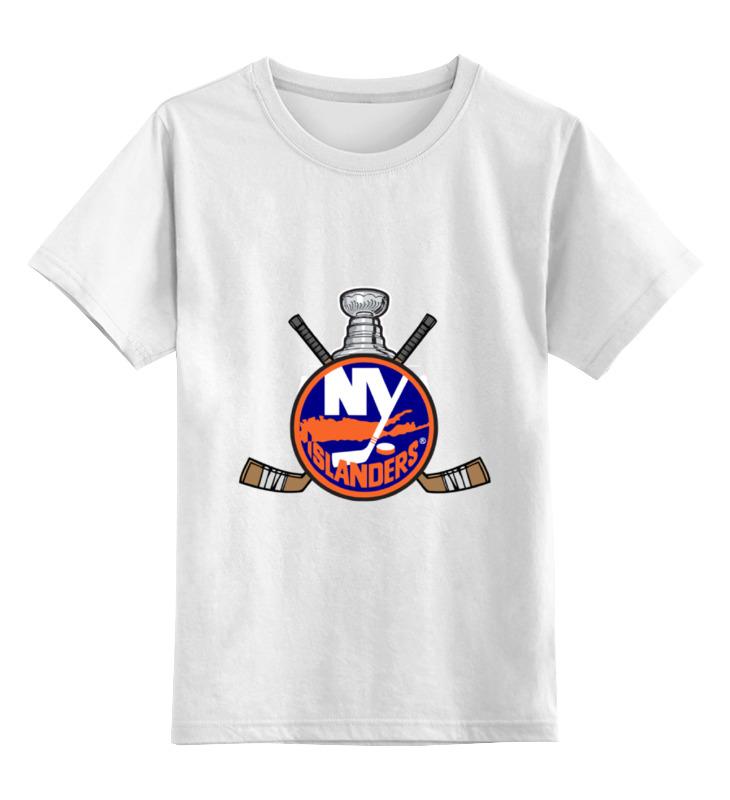 все цены на Детская футболка классическая унисекс Printio Нью-йорк айлендерс онлайн
