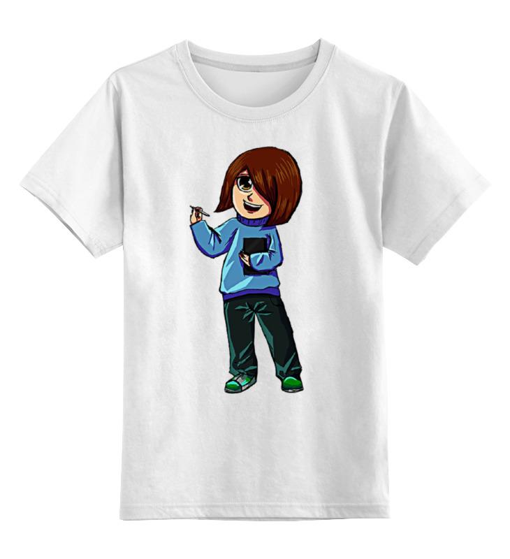 Детская футболка классическая унисекс Printio Девочка художник детская футболка классическая унисекс printio художник