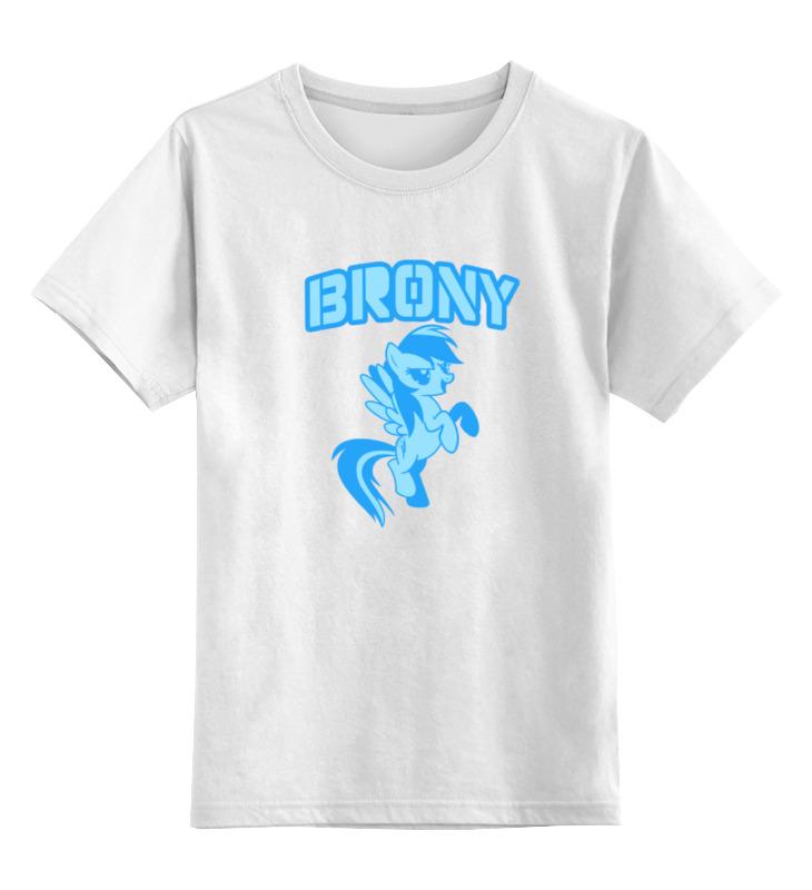 Детская футболка классическая унисекс Printio Brony rainbow dash детская футболка классическая унисекс printio rainbow dash loyalty