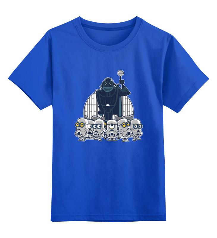Детская футболка классическая унисекс Printio Дарт вейдер и миньоны детская футболка классическая унисекс printio миньоны