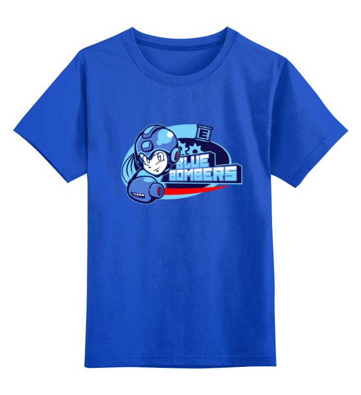 Детская футболка классическая унисекс Printio Blue bombers (mega man) lastolite ll lu7908f mega mega 157cm 84111