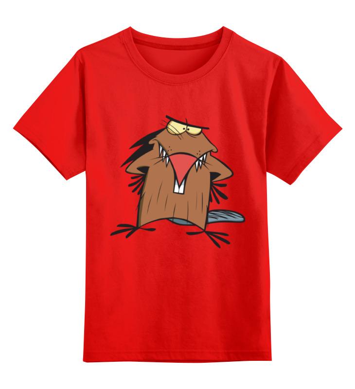 Детская футболка классическая унисекс Printio Крутые бобры