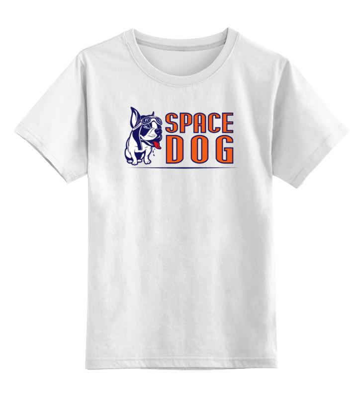 Детская футболка классическая унисекс Printio Space dog детская футболка классическая унисекс printio gta 5 dog