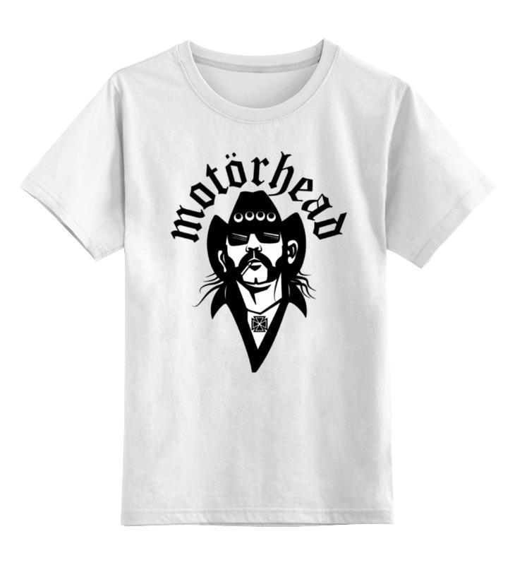 Детская футболка классическая унисекс Printio Motorhead band детская футболка классическая унисекс printio слоник