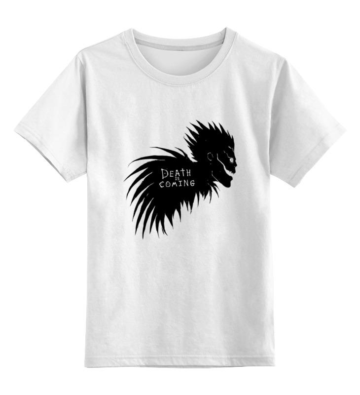 цена Детская футболка классическая унисекс Printio Shinigami is coming