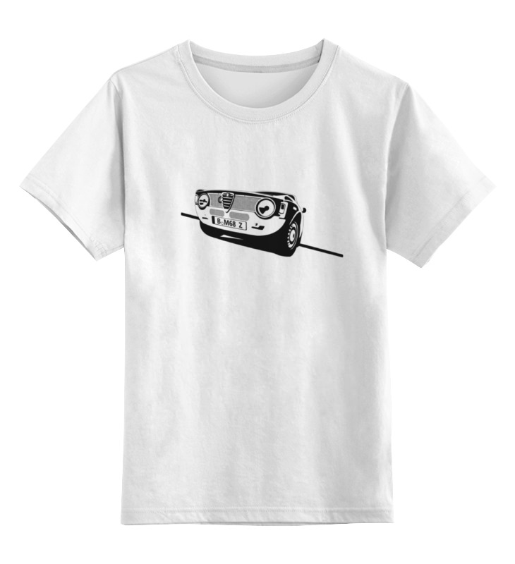 Детская футболка классическая унисекс Printio Retro alfa romeo racing наклейки tony 2 74 alfa romeo mito 147 156 159 166 giulietta gt