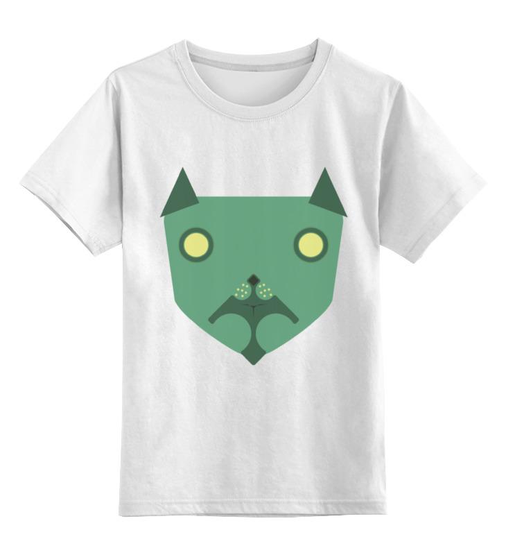 Детская футболка классическая унисекс Printio Собака добряка