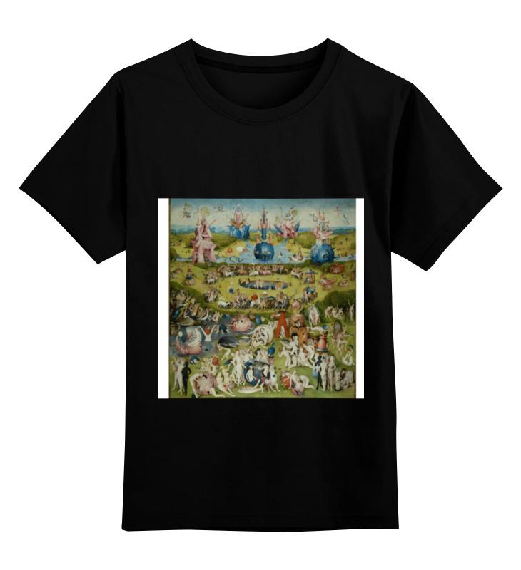 Детская футболка классическая унисекс Printio Босх сад детская футболка классическая унисекс printio мачете