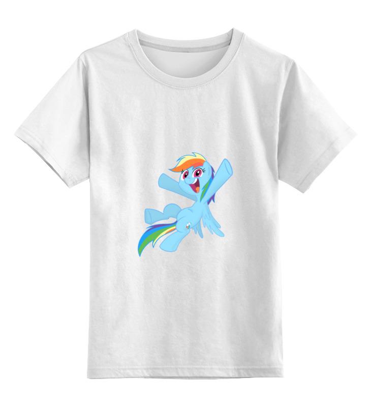 Детская футболка классическая унисекс Printio My little pony- rainbow dash детская футболка классическая унисекс printio rainbow dash loyalty