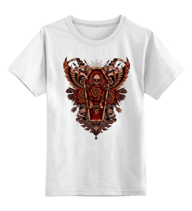 Детская футболка классическая унисекс Printio Coffin art