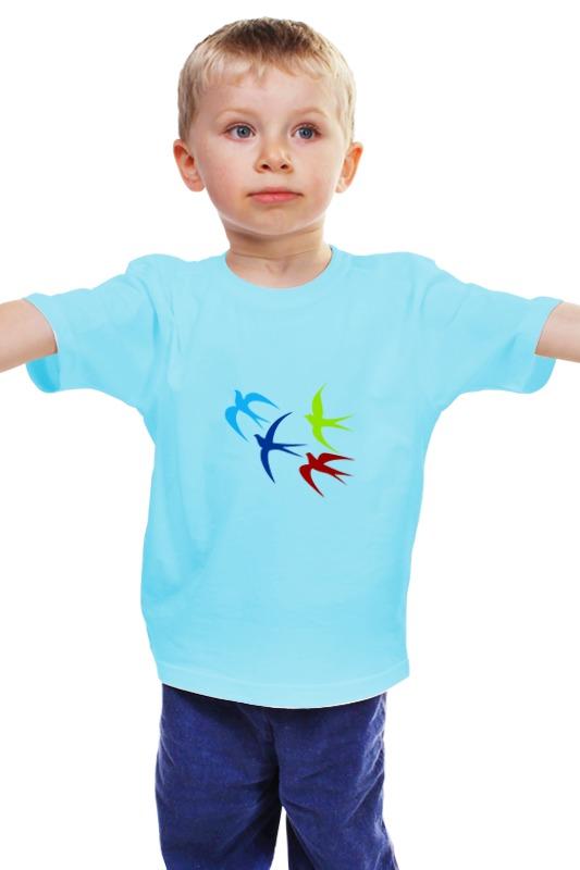 Детская футболка классическая унисекс Printio Россия украина