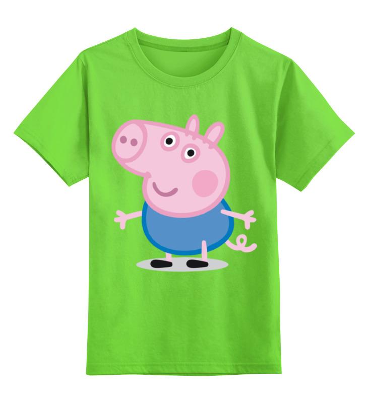 Детская футболка классическая унисекс Printio Свинка пеппа наклейки свинка пеппа 100 шт