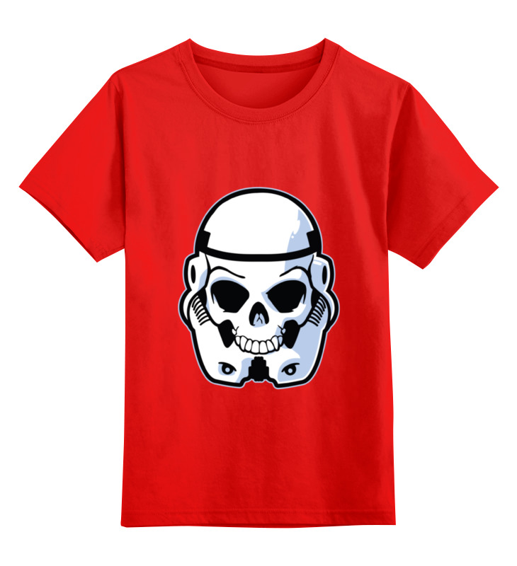 Детская футболка классическая унисекс Printio Skull trooper детская футболка классическая унисекс printio skull trooper