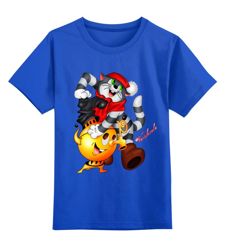 Фото - Детская футболка классическая унисекс Printio Кот матроскин. мультфильмы мультфильмы