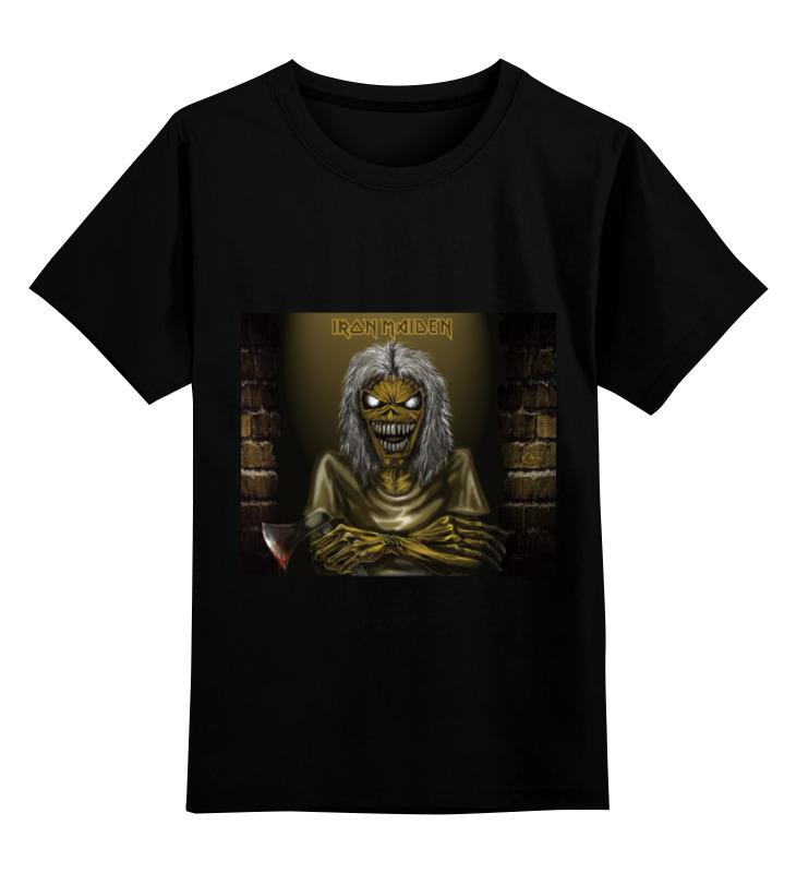 Детская футболка классическая унисекс Printio Iron maiden iron maiden iron maiden running free live