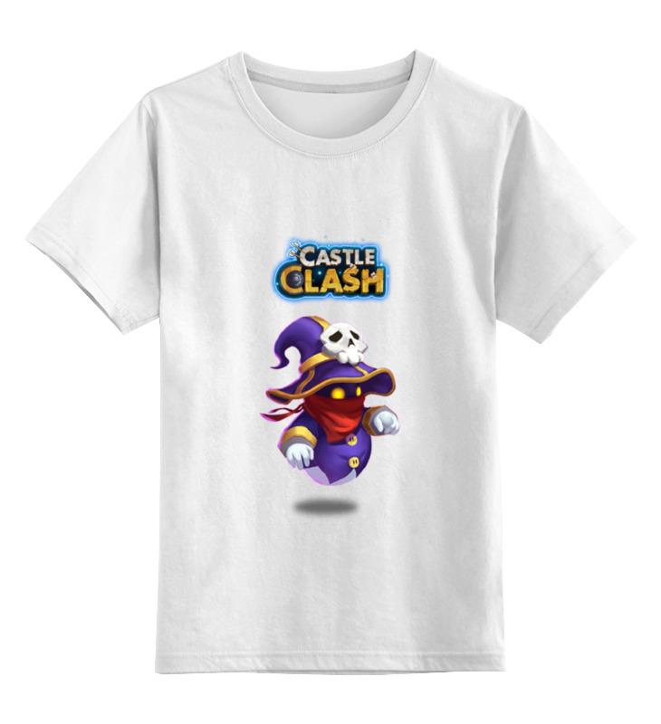 Детская футболка классическая унисекс Printio Маг духа castle clash цена