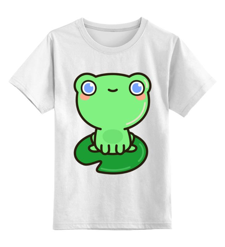 Детская футболка классическая унисекс Printio Лягушка