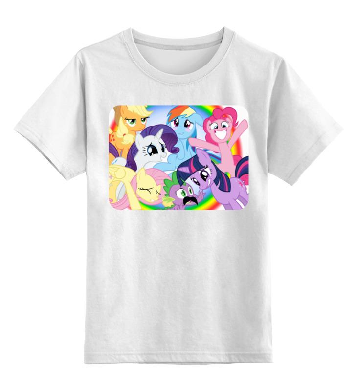 Детская футболка классическая унисекс Printio Пони.