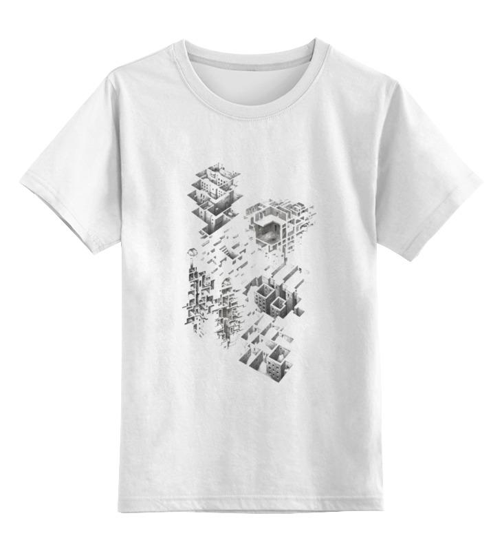 Детская футболка классическая унисекс Printio Лабиринты