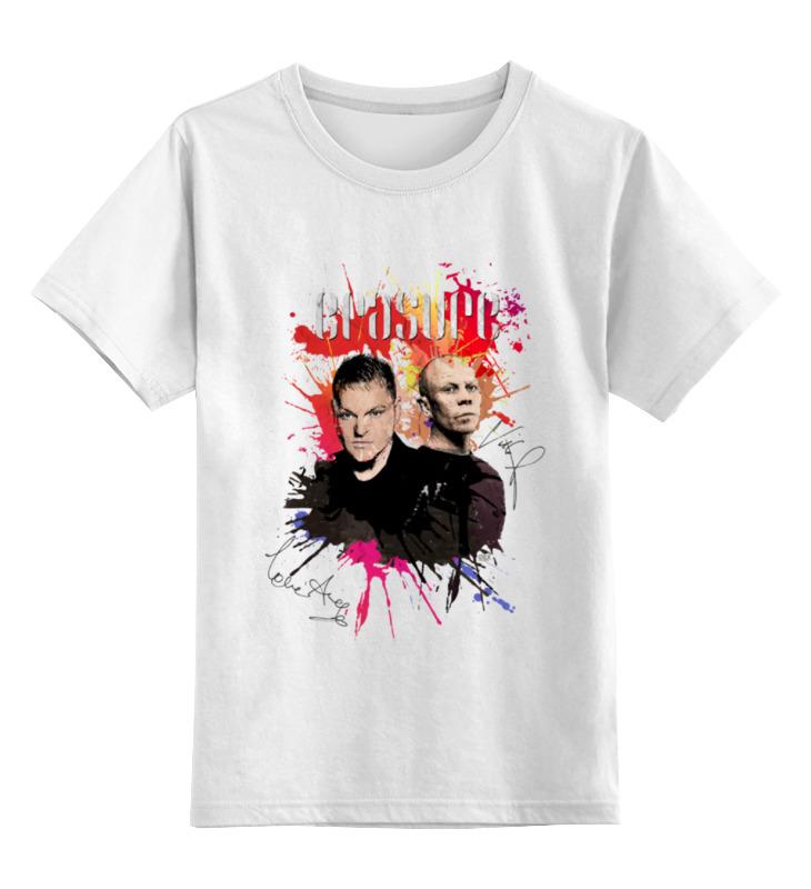 Детская футболка классическая унисекс Printio Erasure \ andy bell & vince clarke erasure erasure wild