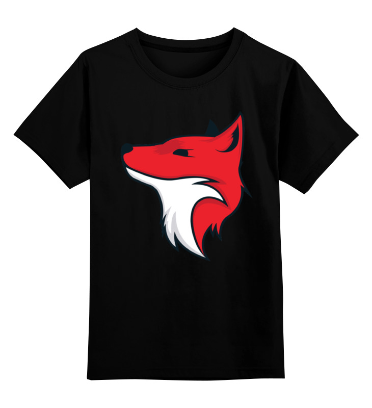 Детская футболка классическая унисекс Printio Fox / лиса детская футболка классическая унисекс printio fox лиса