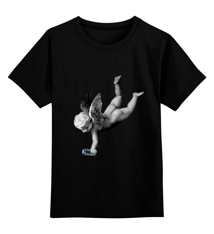Детская футболка классическая унисекс Printio Ангел хранитель анатолий ярмолюк поспорил ангел с демоном