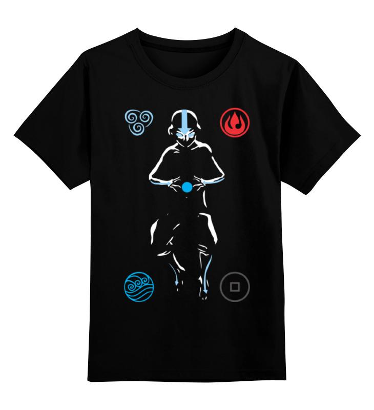 Детская футболка классическая унисекс Printio Аватар легенда об аанге