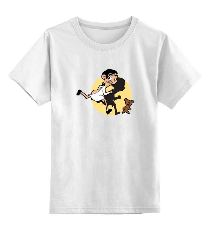Детская футболка классическая унисекс Printio Мистер бин футболка классическая printio мистер бин