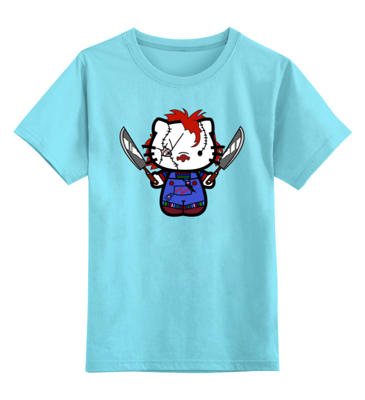 Детская футболка классическая унисекс Printio Hello chucky