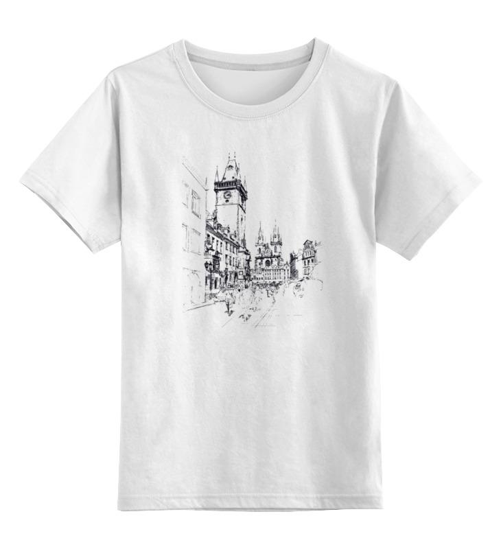 Детская футболка классическая унисекс Printio Прага кшиштоф курек национальная галерея прага