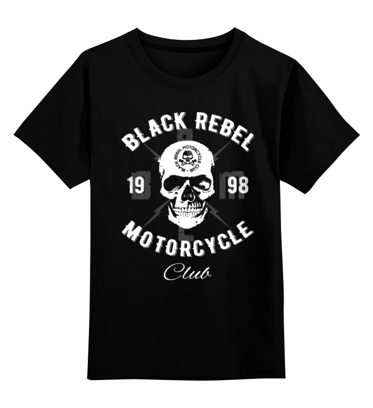 Детская футболка классическая унисекс Printio Black rebel motorcycle club футболка rebel spirit rebel spirit re032emspj40