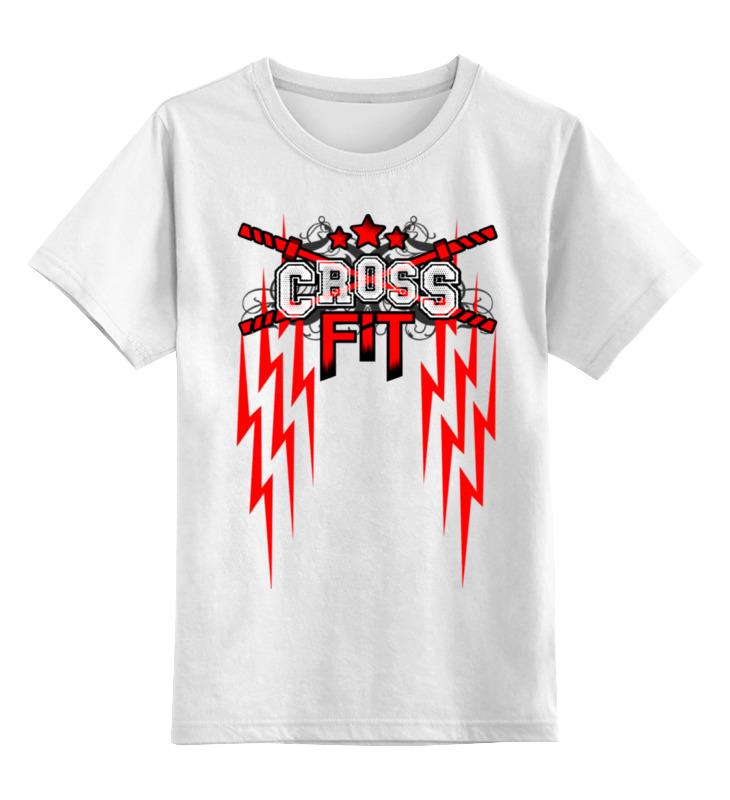 Детская футболка классическая унисекс Printio Crossfit мужская футболка dermay crossfit jap225