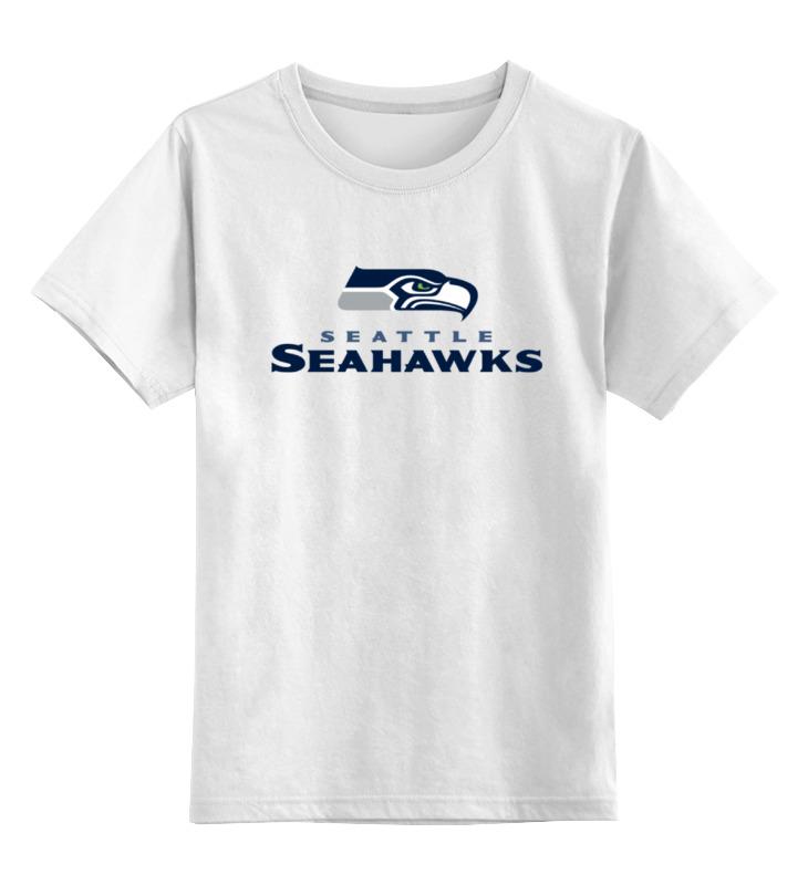 Детская футболка классическая унисекс Printio Seattle seahawks майка enjoi sleeveless in seattle tank white