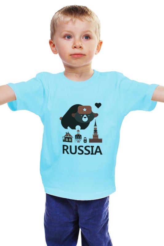 Детская футболка классическая унисекс Printio Россия (russia) детская футболка классическая унисекс printio матрешка