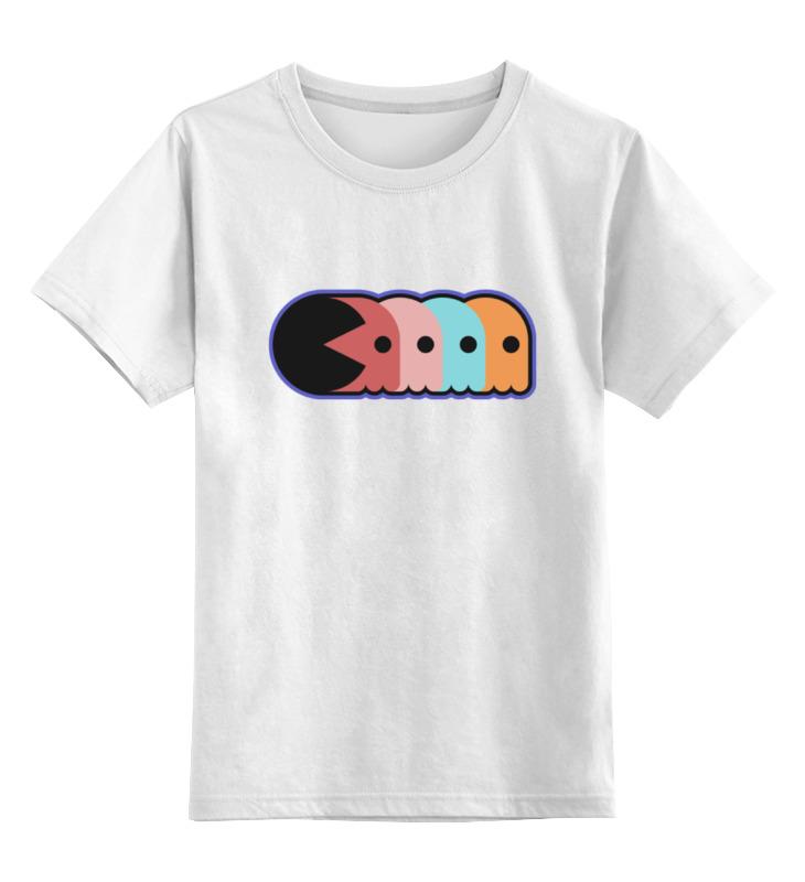 Детская футболка классическая унисекс Printio Pac-man детская футболка классическая унисекс printio 2 pac