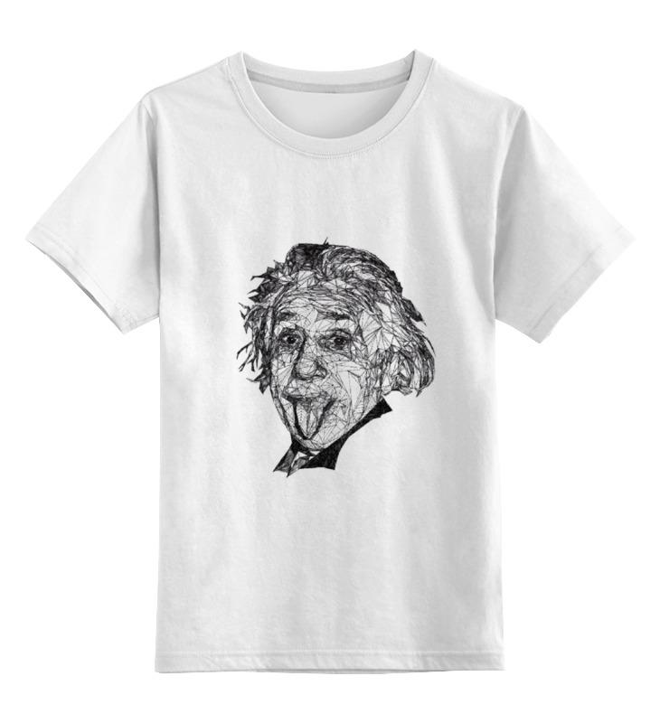 Детская футболка классическая унисекс Printio Альберт эйнштейн альберт эйнштейн леопольд инфельд эволюция физики