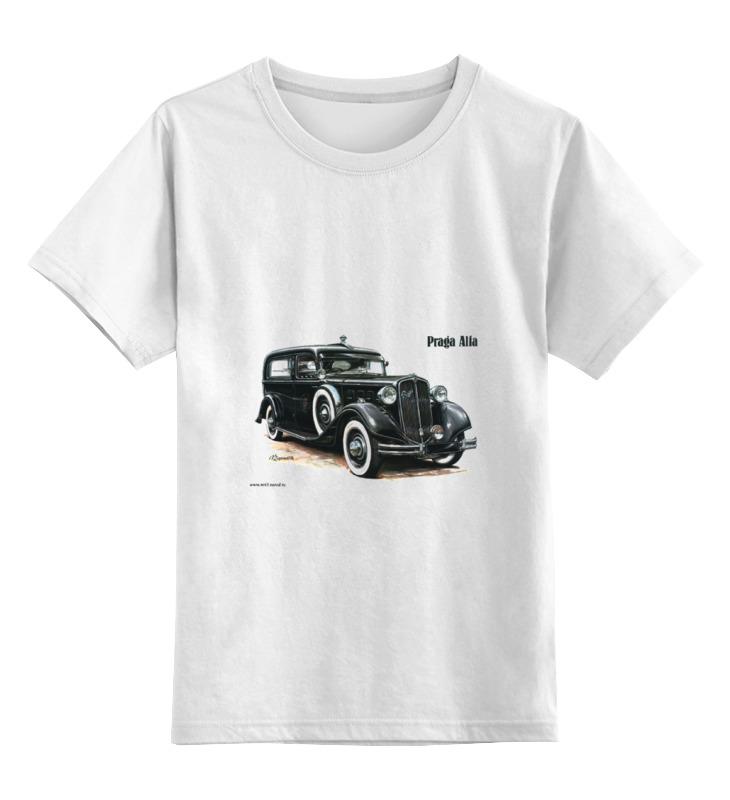 Детская футболка классическая унисекс Printio Ретроавтомобили 3 цена и фото