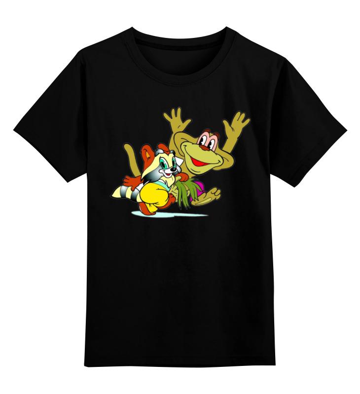Детская футболка классическая унисекс Printio Крошка енот детская футболка классическая унисекс printio мачете